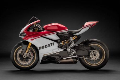 Ducati 1299 Panigale S Anniversario phien ban gioi han ky niem 90 nam - chi co 500 chiec - Anh 15