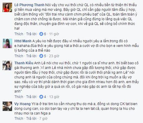 Chia tay hotgirl, Quang Le cong khai nguoi yeu la con gai chu tiem vang - Anh 2