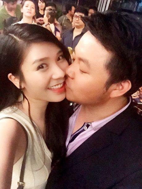 Chia tay hotgirl, Quang Le cong khai nguoi yeu la con gai chu tiem vang - Anh 3