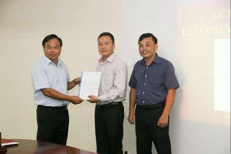 Luan chuyen mot so vi tri lanh dao quan trong thuoc Tong cuc TCDLCL - Anh 1
