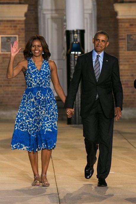 Khoanh khac ngot ngao cua 'ong ba Obama' trong 24 nam 'chung doi' - Anh 15