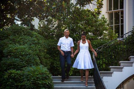 Khoanh khac ngot ngao cua 'ong ba Obama' trong 24 nam 'chung doi' - Anh 16
