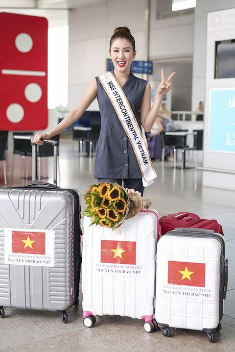 Bao Nhu lang le len duong tham du Hoa hau quoc te - Anh 1