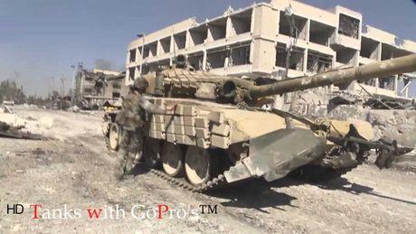 Quân đội Syria quyết chiến trong chảo lửa Aleppo