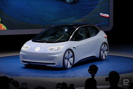 Tham vong xe dien cua Volkswagen - Anh 1