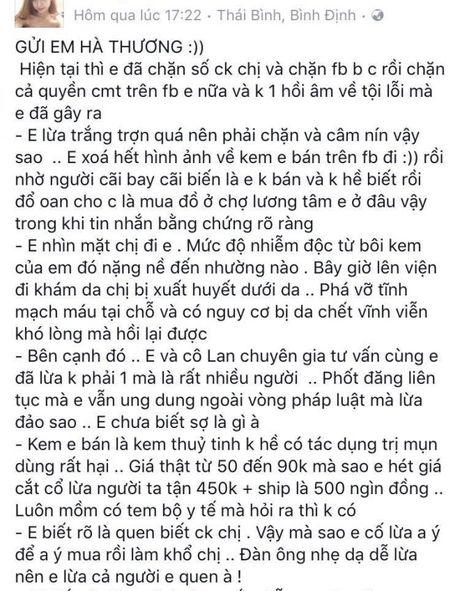 Bao gio het nguoi mua my pham ca tin, thi moi het ke ban hang lua dao! - Anh 1