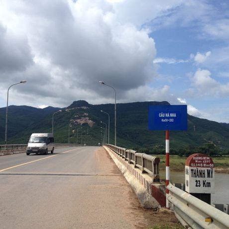 Quang Nam 'lac dau' du an BOT tren quoc lo 14B - Anh 1