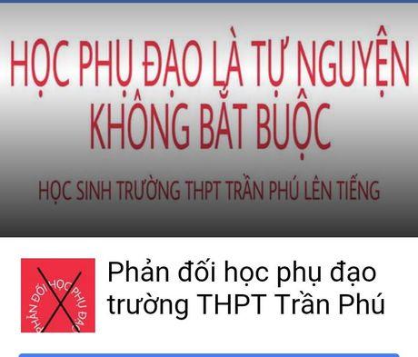 Hoc sinh Dak Lak lap Facebook phan doi hoc them - Anh 1