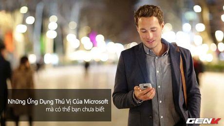 Nhung ung dung thu vi cua Microsoft ma co the ban chua biet - Anh 1