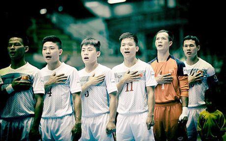 DT Futsal Viet Nam hoi quan chuan bi cho giai vo dich Dong Nam A - Anh 1