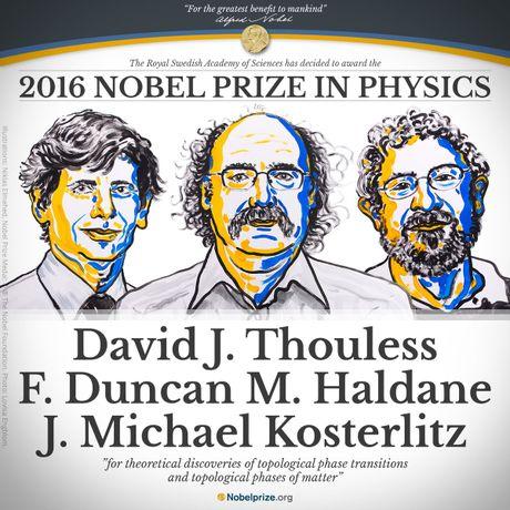 Ba nha khoa hoc goc Anh gianh Nobel Vat ly 2016 - Anh 1