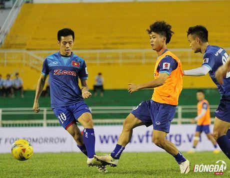Thay tro Huu Thang luyen bai tu truoc tran gap Trieu Tien - Anh 6