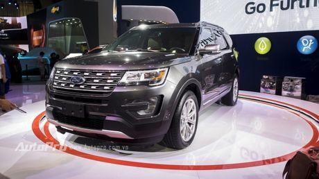 Ford Explorer: Ngoi sao cua gian hang Ford tai VMS 2016 - Anh 1
