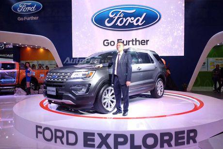 Ford Explorer: Ngoi sao cua gian hang Ford tai VMS 2016 - Anh 2