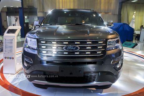 Ford Explorer: Ngoi sao cua gian hang Ford tai VMS 2016 - Anh 3
