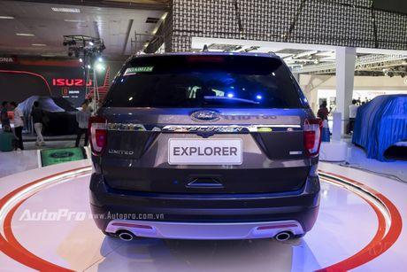 Ford Explorer: Ngoi sao cua gian hang Ford tai VMS 2016 - Anh 5