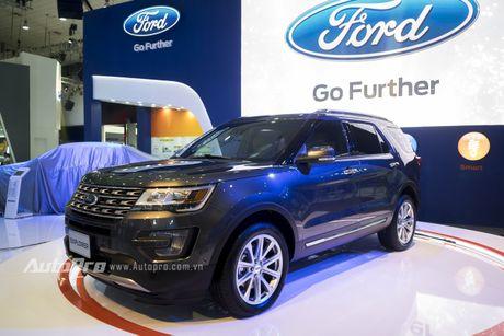 Ford Explorer: Ngoi sao cua gian hang Ford tai VMS 2016 - Anh 6