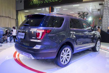 Ford Explorer: Ngoi sao cua gian hang Ford tai VMS 2016 - Anh 8