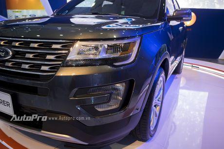Ford Explorer: Ngoi sao cua gian hang Ford tai VMS 2016 - Anh 9