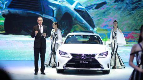 Lexus: Dang cap xe sang doc ton tai VMS 2016 - Anh 1