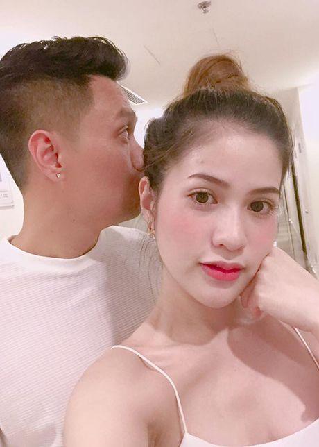 Vo dien vien Viet Anh hanh phuc khoe bung bau lum lum - Anh 8