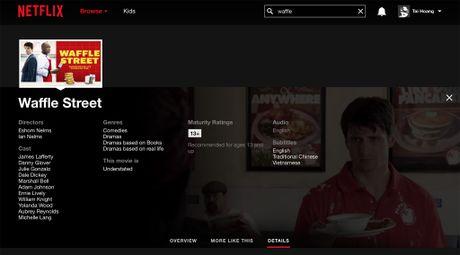 Netflix da co phu de tieng Viet nhung so luong chua nhieu - Anh 3