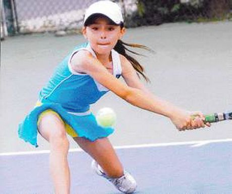 "Tay vot 13 tuoi ""lach luat"" vao vong chinh giai ITF Mexico - Anh 1"