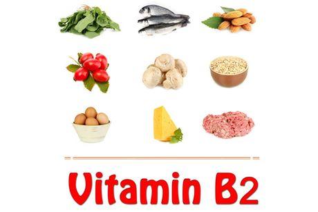 Dung vitamin B2 me bau khoi lo thieu chat cho con - Anh 1