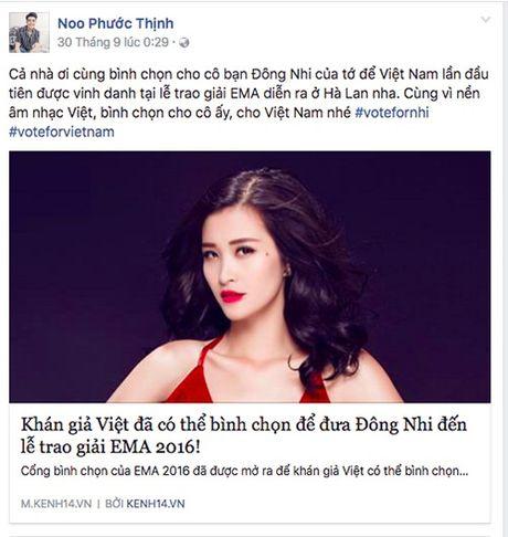 Khong chi ca si, dan my nhan cua showbiz cung het long ung ho Dong Nhi - Anh 6