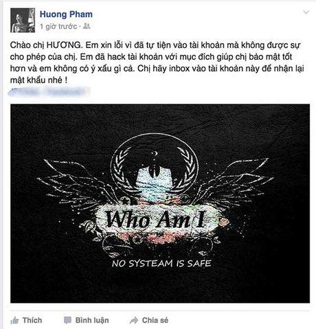 Hacker gui tam thu muon Pham Huong bao mat tai khoan tot hon - Anh 1