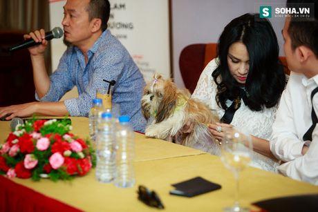Thanh Lam dua thu cung di hop bao - Anh 11