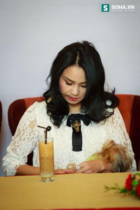 Thanh Lam dua thu cung di hop bao - Anh 12