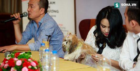 Thanh Lam dua thu cung di hop bao - Anh 1