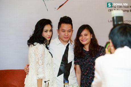 Thanh Lam dua thu cung di hop bao - Anh 2