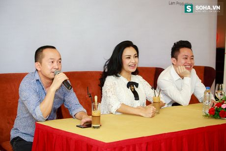 Thanh Lam dua thu cung di hop bao - Anh 3