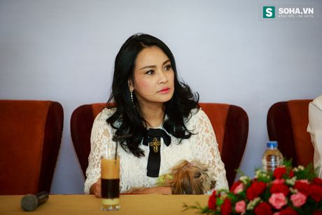 Thanh Lam dua thu cung di hop bao - Anh 9