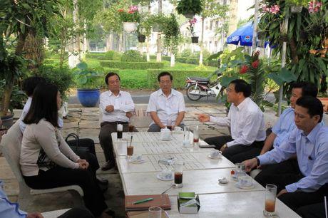 'Quan ca phe doanh nhan' tren mang cua Thu tuong - Anh 2