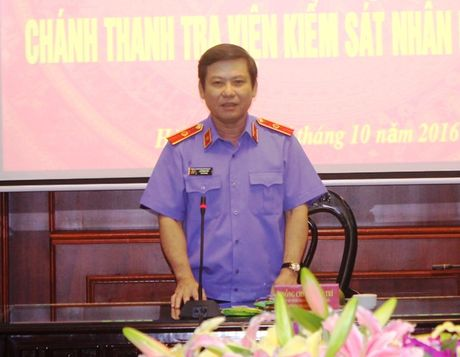 Trao quyet dinh bo nhiem Chanh Thanh tra VKSNDTC - Anh 1
