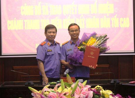 Trao quyet dinh bo nhiem Chanh Thanh tra VKSNDTC - Anh 2