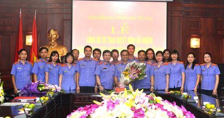 Trao quyet dinh bo nhiem Chanh Thanh tra VKSNDTC - Anh 4