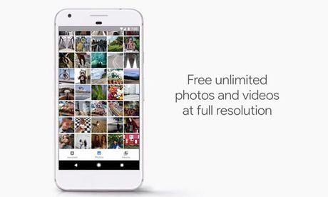 Nguoi dung Google Pixel duoc luu tru hinh anh, video khong gioi han - Anh 1