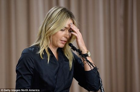 Maria Sharapova khoc vui suong vi duoc giam an - Anh 1