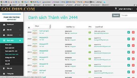 "Triet pha mot duong day choi hui online ""cho - nhan"" lien tinh - Anh 1"
