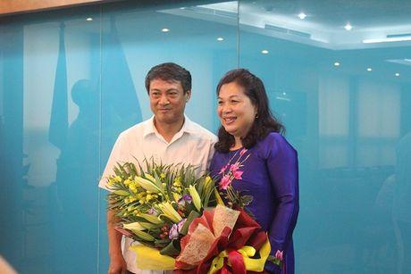Ong Dinh Duc Thien lam quyen Hieu truong Truong Can bo TT&TT - Anh 2