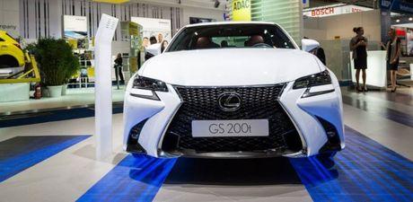 Xem truoc man 'khai tiec' chao don Lexus GS200t 2016 Lexus GS200t 2016 chinh thuc ra mat bang bua tiec anh sang - Anh 1
