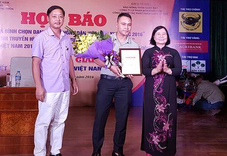 Ton vinh 63 nong dan Viet Nam xuat sac - Anh 1