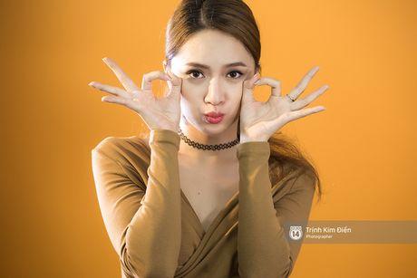 #Hashtag: Cuoi ngat khi Huong Giang Idol noi ve 'Minh thich thi minh...', roi quan quai nhay 'Tao But' - Anh 8