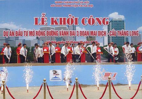 Hon 3.000 ti mo rong duong Mai Dich - cau Thang Long - Anh 2