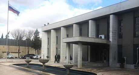 Đại sứ quán Nga ở Syria hứng đạn cối