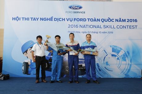 Ford Viet Nam to chuc thanh cong Hoi thi tay nghe toan quoc - Anh 2